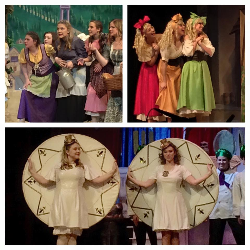 Olivia and Morgan's Beauty and the Beast performance.